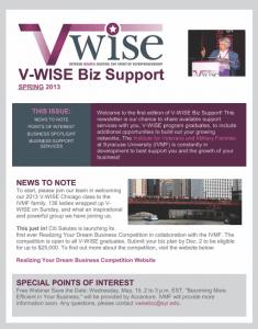 V-Wise Newsletter thumbnail
